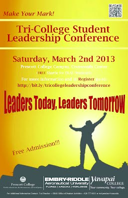 Student Leadership Conference Poster2013